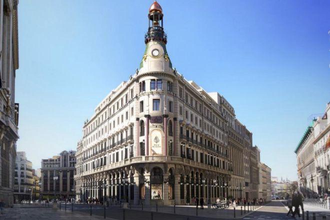 Complejo Canalejas es un macroproyecto de lujo, pendiente de apertura en Madrid, que prevé acoger Dani, restaurante de Dani García
