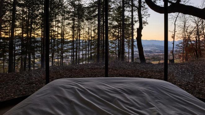 Lumipod permite disfrutar de las vistas sin barreras.