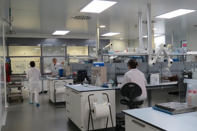 El laboratorio de Reig Jofre en Sant Joan Despí.