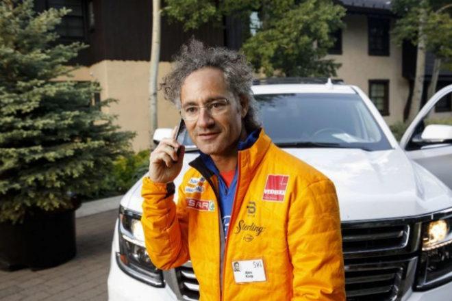 El consejero delegado y cofundador de Palantir, Alex Karp.