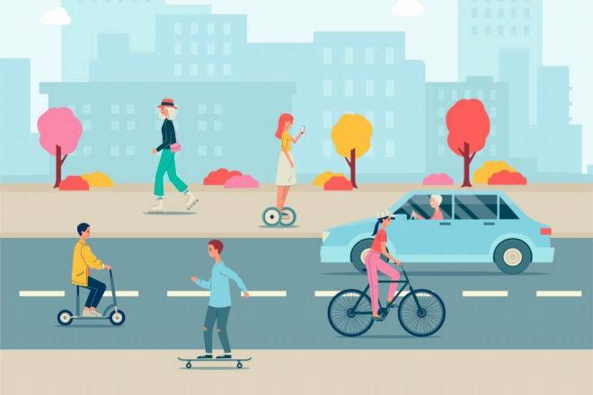 Caminando hacia la movilidad sostenible: una oportunidad de presente y futuro