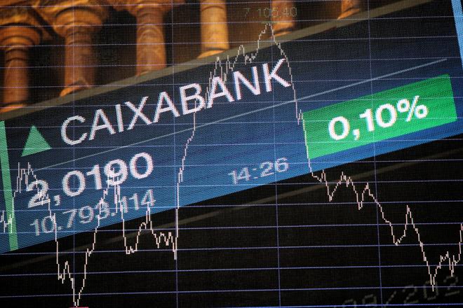 La Bolsa confía en el futuro de CaixaBank-Bankia