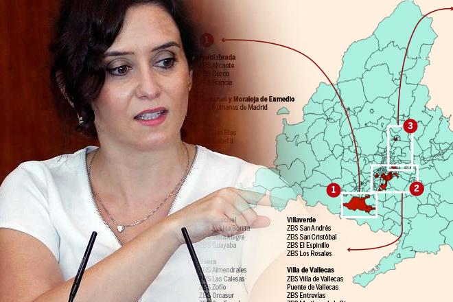 Madrid restringe la movilidad en 37 zonas, limita aforos al 50% y las reuniones a 6 personas