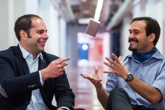 Enrique Medina y Héctor Puago, fundadores de Cedrion.