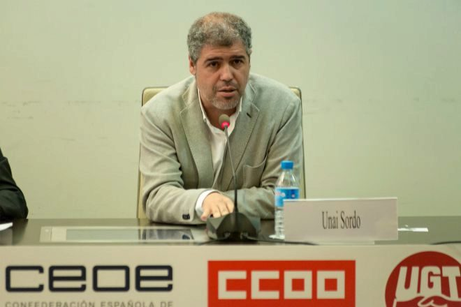 """CCOO cree que Competencia dará el visto bueno a la fusión  pese a la """"concentración"""" bancaria"""