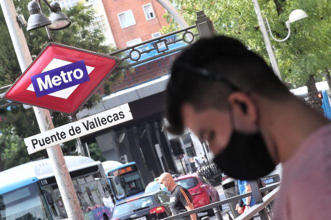 Puente de Vallecas es una de las zonas donde el Gobierno madrileño ha restringido la movilidad por el coronavirus.