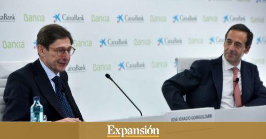 El dividendo extraordinario  de Bankia financiará la fusión