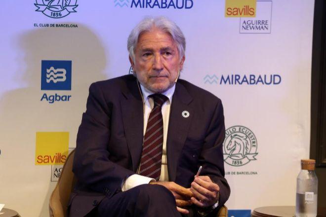 El presidente de Fomento, Josep Sánchez Llibre,