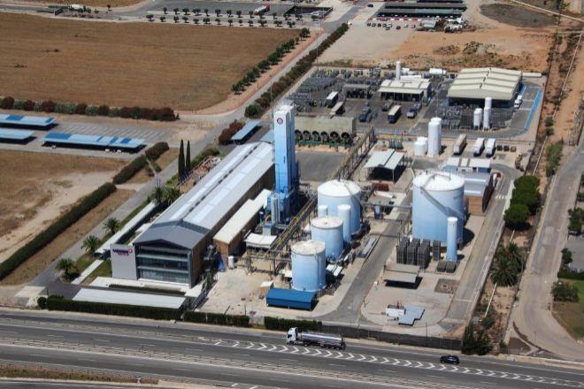 Las instalaciones de Messer en Vila-seca (Camp de Tarragona).