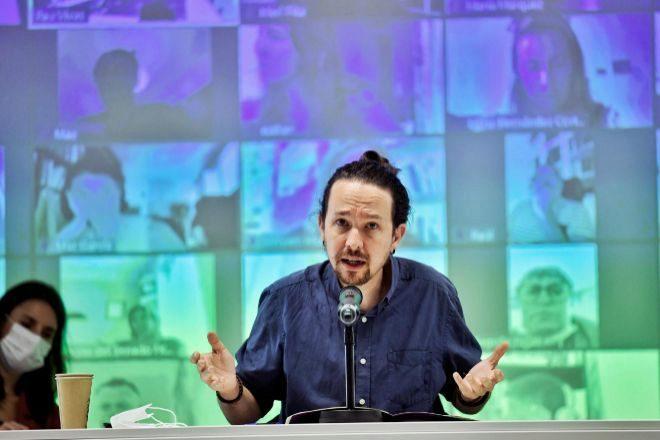 El secretario general de Podemos y vicepresidente segundo del Gobierno, Pablo Iglesias.