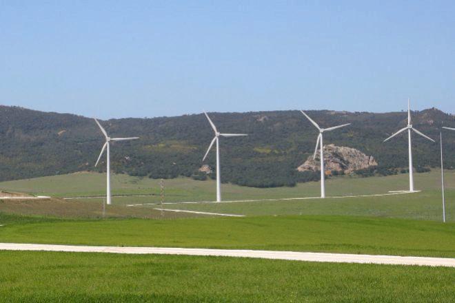 Parque eólico de Audax Renovables.