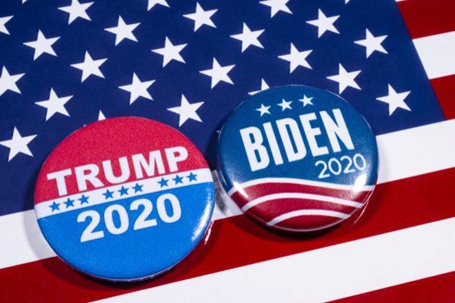 Montaje con los candidatos a las elecciones de Estados Unidos