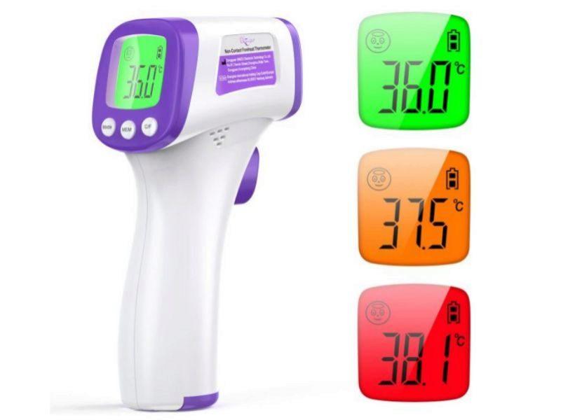 Los mejores termómetros de frente, digitales y con infrarrojos para tomarse la temperatura