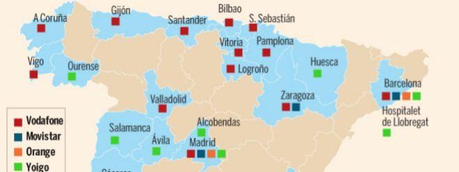 El 5G acelera en España en medio de una gran guerra comercial