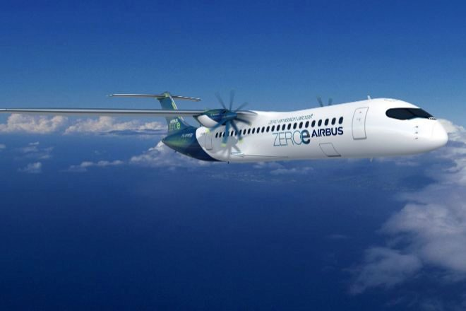 Diseño de Airbus para su primer avión cero emisiones