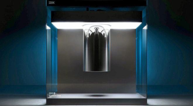 IMB Q es el nombre del ordenador cuántico desarrollado por la...