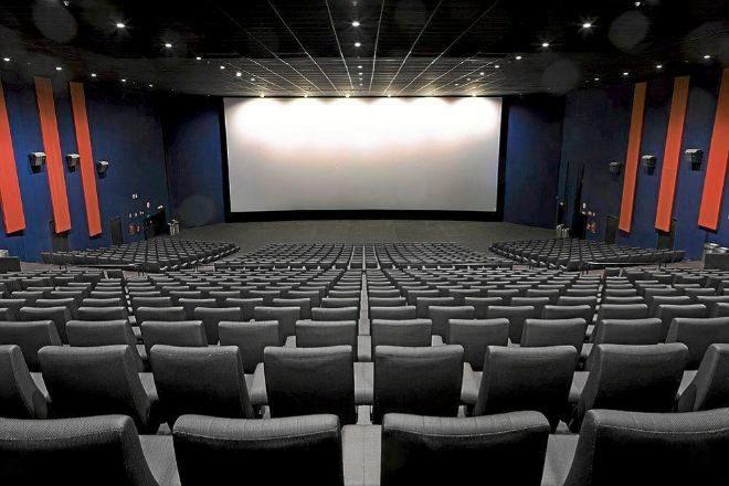 Imagen de una sala de cine remodelada de Kinepolis