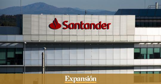 Santander reorganiza su estructura en España para ganar empuje comercial