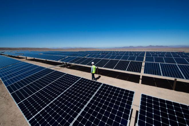 Planta solar de Total.
