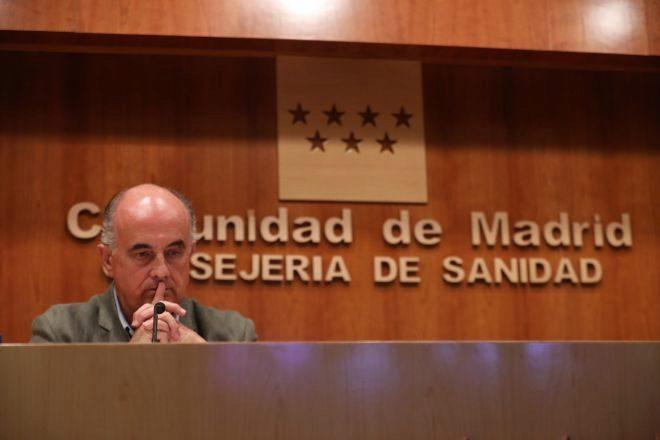 El viceconsejero de Salud Pública y Plan Covid-19, Antonio Zapatero.