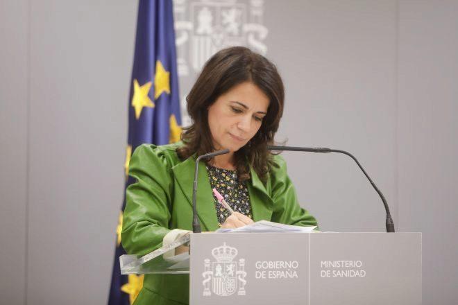 La Secretaria de Estado de Estado de Sanidad, Silvia Calzón.