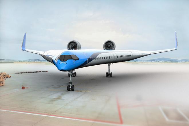El avión en 'V' que podría ser el futuro de la aviación