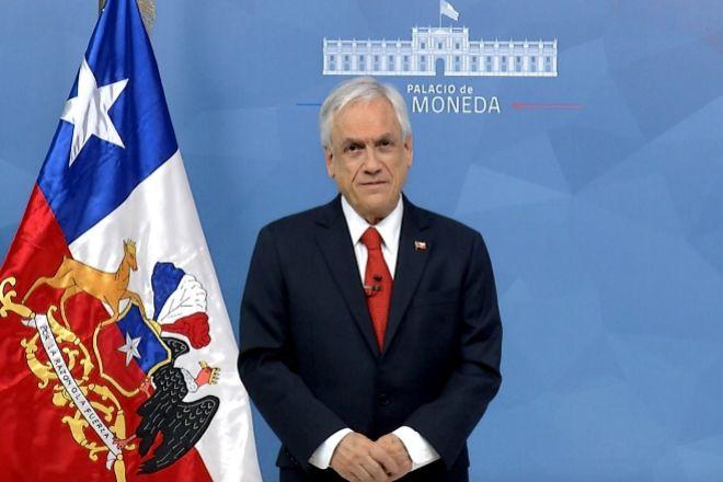 El presidente chileno Sebastián Piñera.
