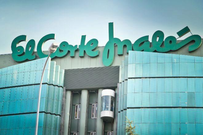 Centro comercial de El Corte Inglés en Sanchinarro, Madrid.