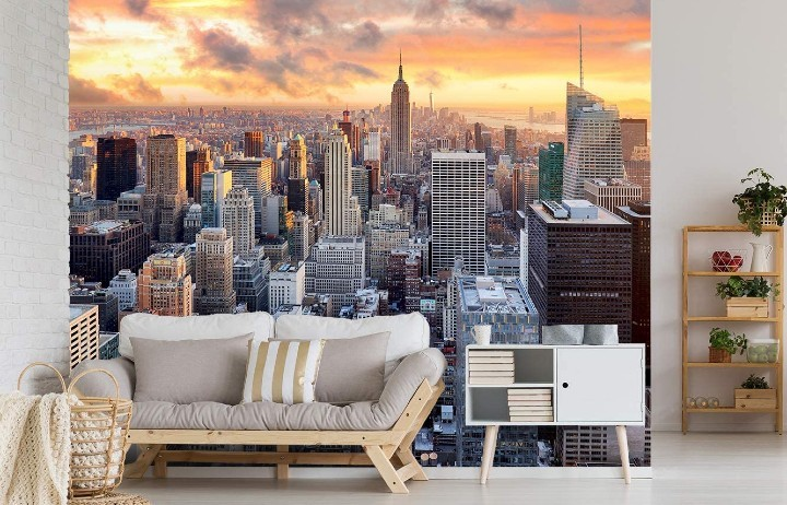 Decora las paredes de tu casa con vinilos de ciudades, películas o mensajes motivadores