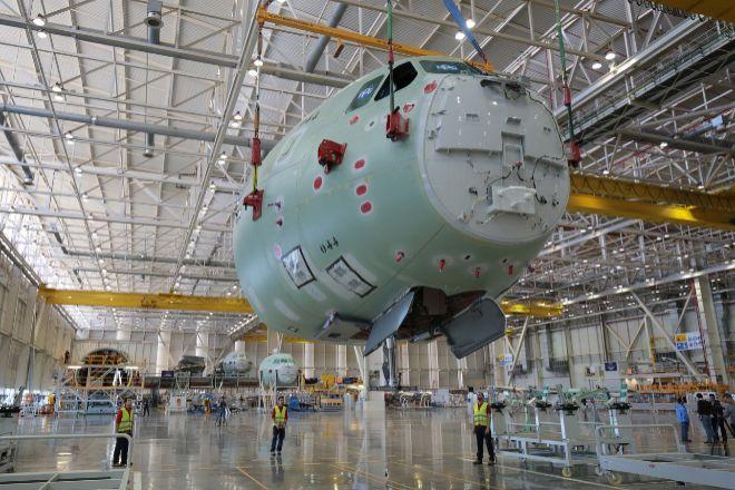 La planta de Airbus en San Pablo es una de las afectadas por los recortes.