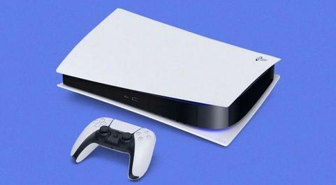La PlayStation 5 de Sony que se lanzará en mayo.