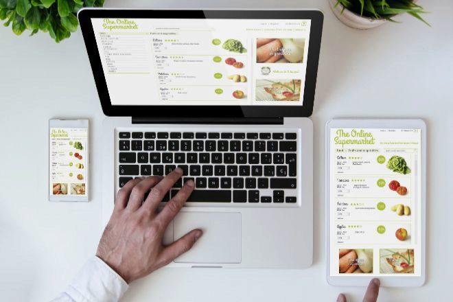 Amazon, Carrefour y El Corte Inglés lideran las ventas online de productos de gran consumo