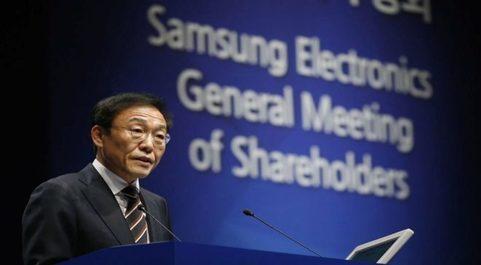 El presidente y director ejecutivo de Samsung, Kim Ki-nam.