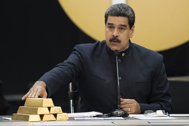 Nicolás Maduro quiere recuperar el control sobre el oro de Venezuela depositado en el Banco de Inglaterra.