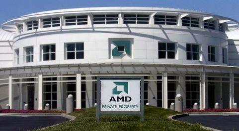 Sede de AMD en California.