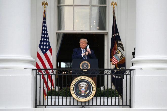 El presidente de EEUU Donald Trump.
