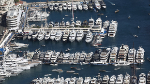 Imagen del club náutico de Mónaco, durante el Monaco Yacht Show de...