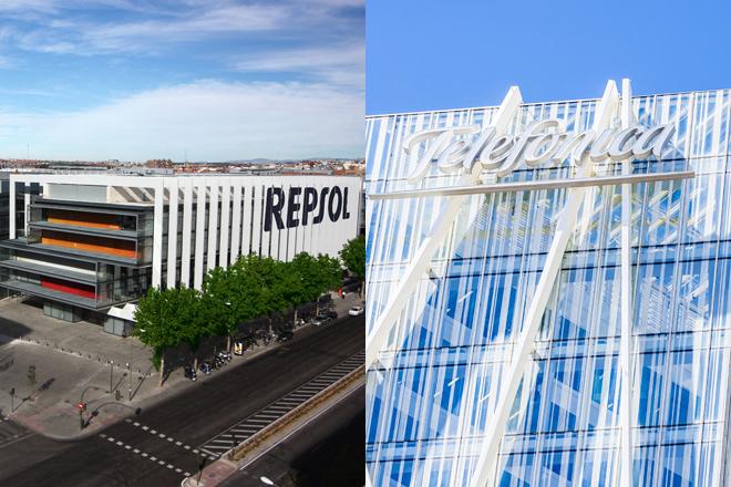 Los mágicos dividendos de Repsol y Telefónica