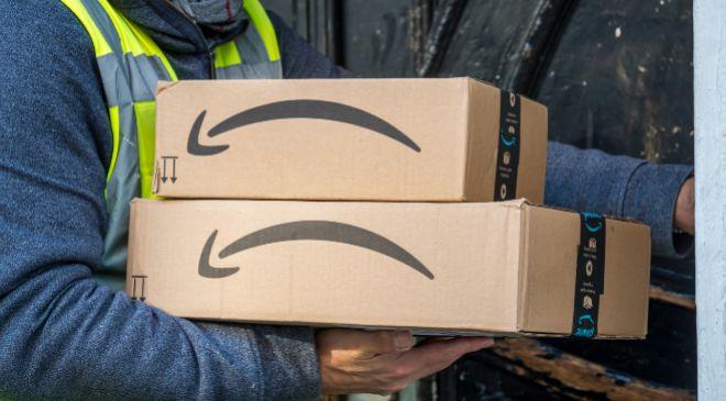 Repartidor de Amazon.