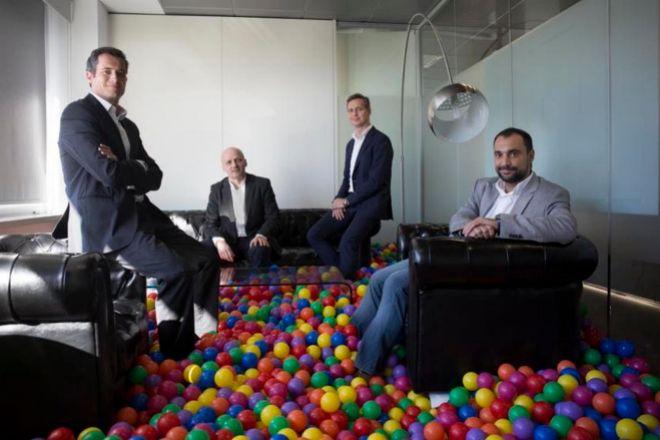 Marc Badosa, Marek Fodor, Javier Pérez-Tenessa y Jesús Monleón, socios de 4Founders.