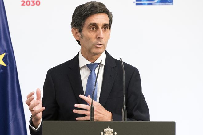José María Álvarez-Pallete preside Telefónica.