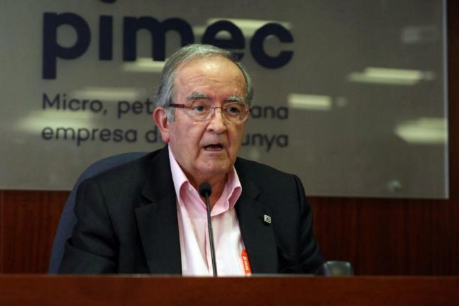 El presidente de Pimec, Josep González.
