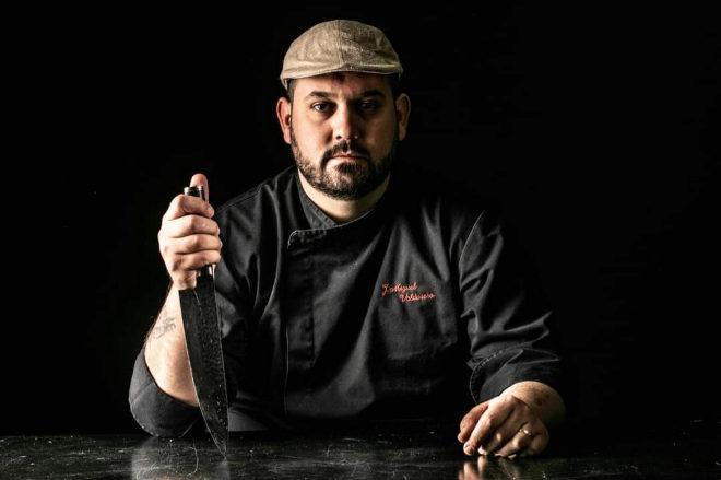 José Miguel Valdivieso, chef y propietario del Restaurante Uskar.