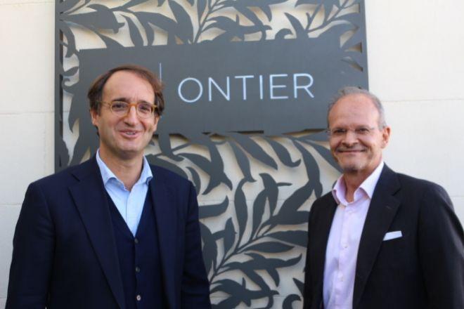 Los socios de Ontier Pedro Rodero (director) y Francisco Cantos.