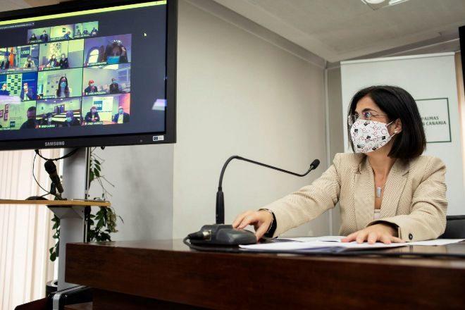 La ministra de Política Territorial y Función Pública Carolina Darias.