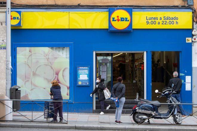 Tienda de Lidl en Madrid.