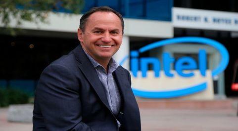 Robert Swan, CEO de Intel.