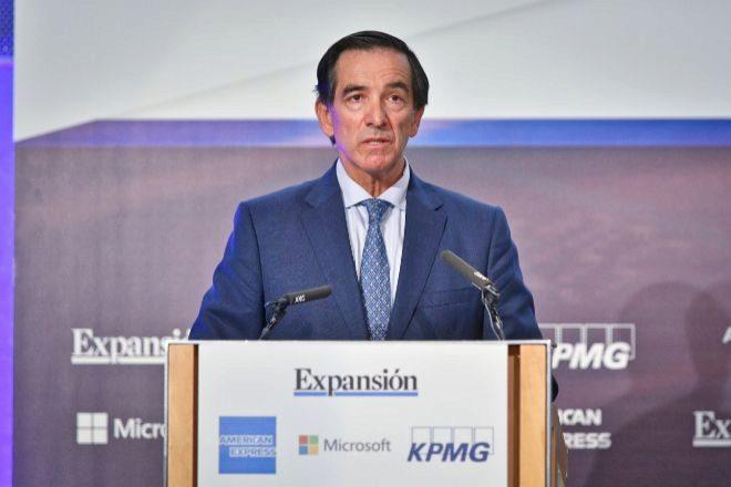 El presidente de Inverco, Ángel Martínez-Aldama.