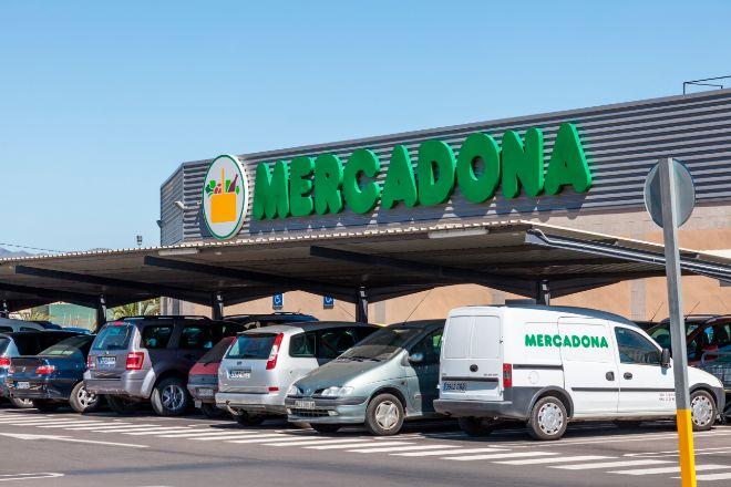 Supermercado de Mercadona en Murcia.