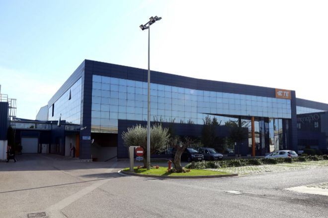 Planta de TE Connectivity en Montcada i Reixac (Barcelona).